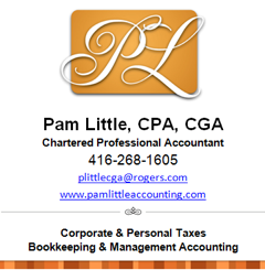Pam Little,Chartered Professional Accountant